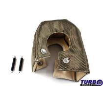 Kipufogó Turbo hővédő T6 titanium type 1